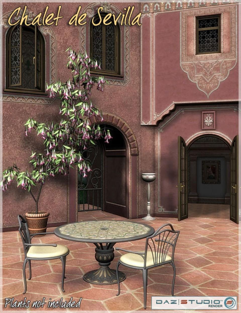 Spanish Rose -- Chalet de Sevilla