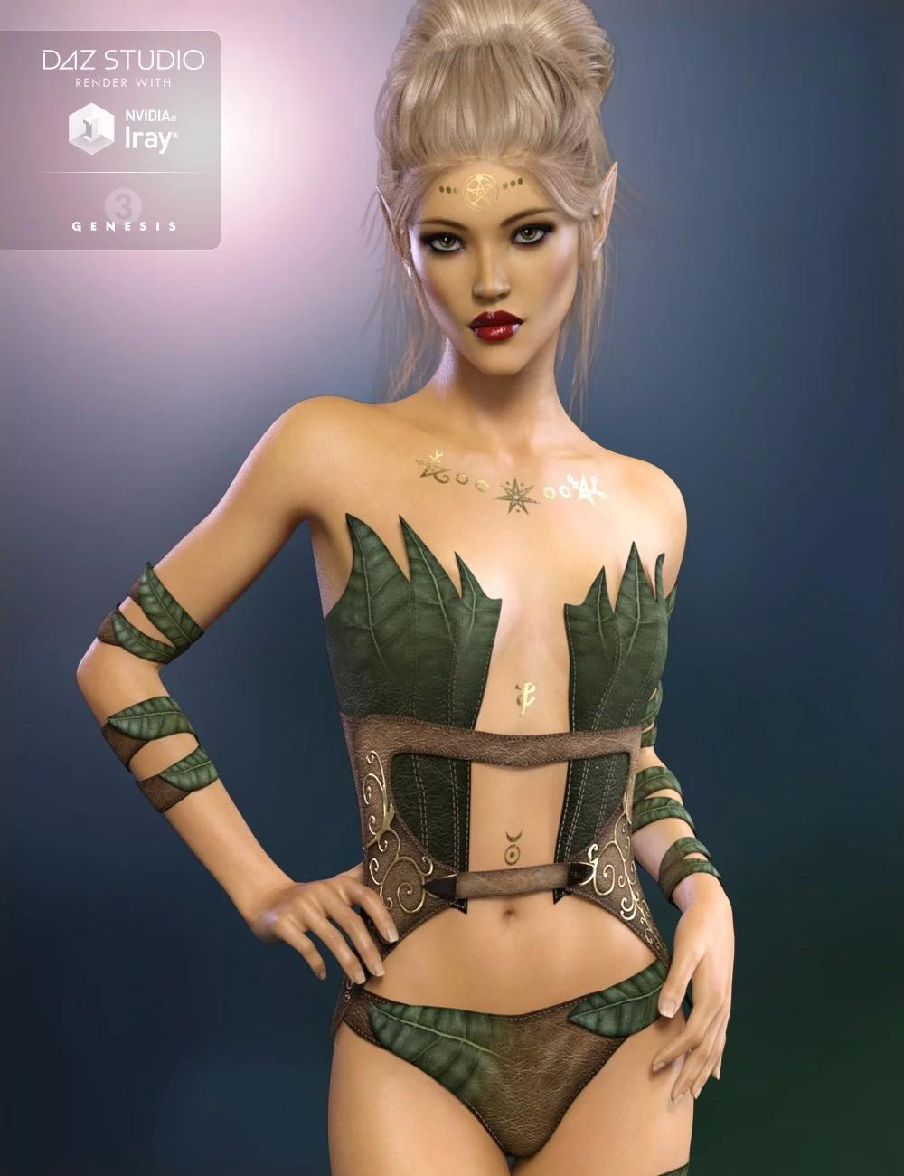 FW Saida HD for Genesis 3 Female