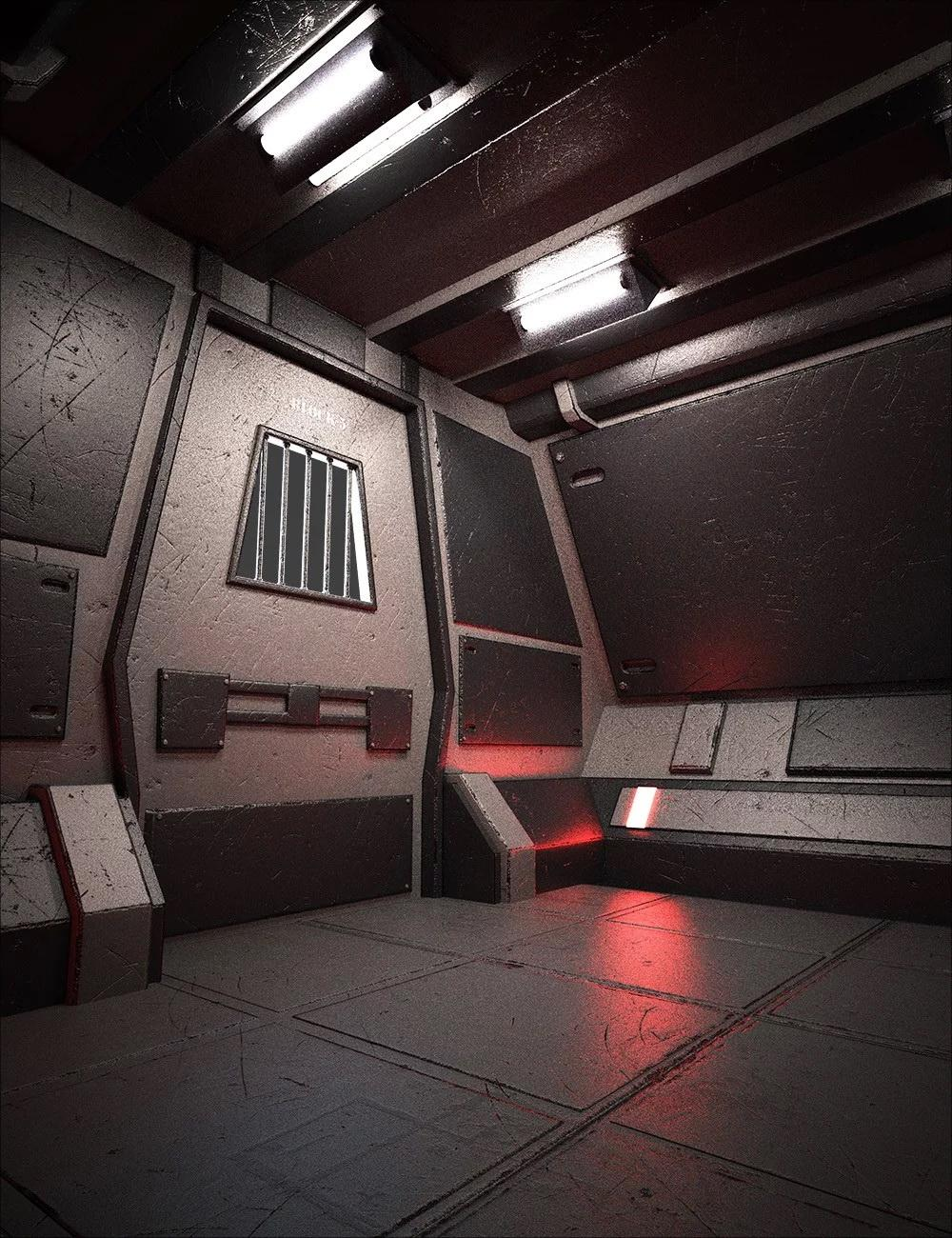 Sci-Fi Confinement Cell