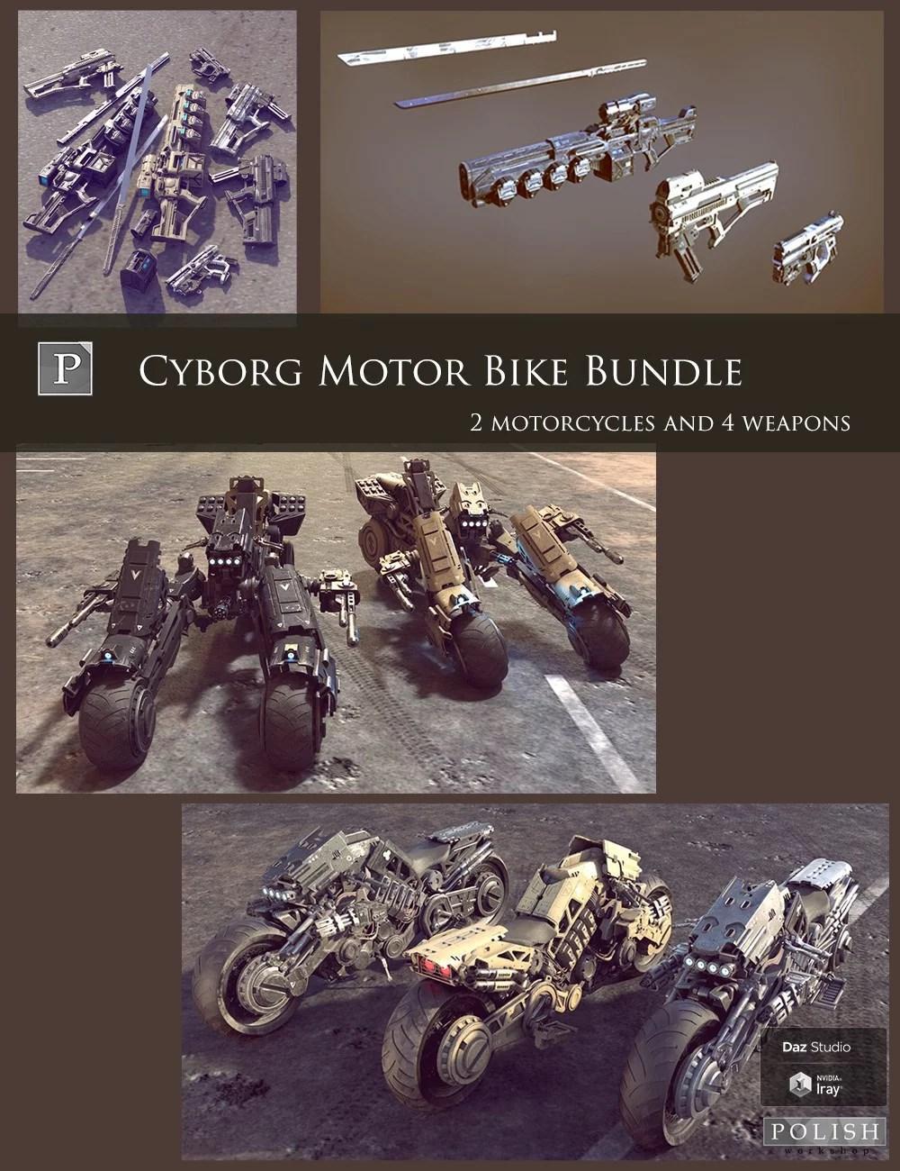 Cyborg Motor Bike Bundle