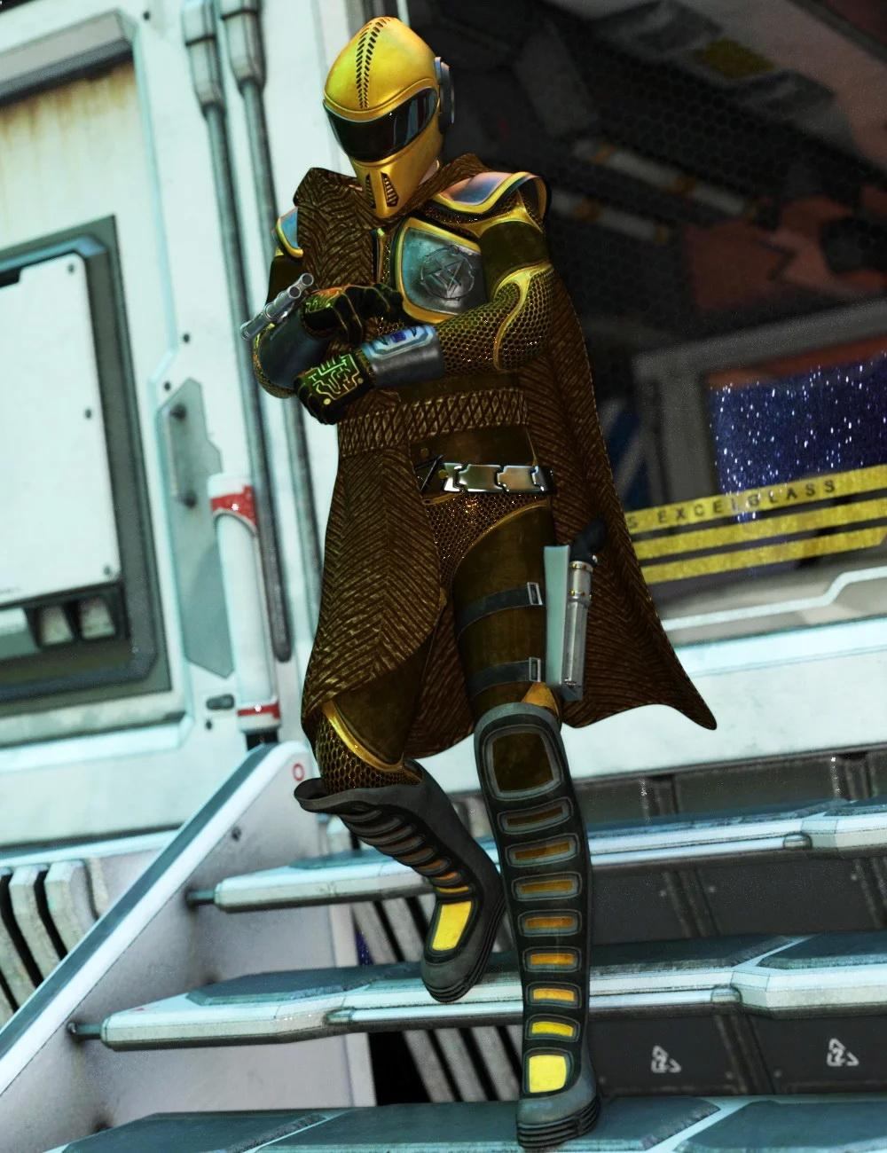 Space Trotter Outfit for Genesis 8 Male(s)