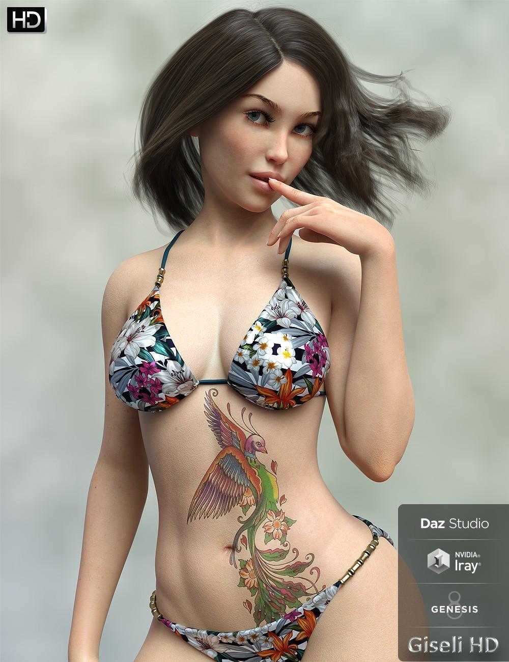 Giseli HD for Genesis 8 Female