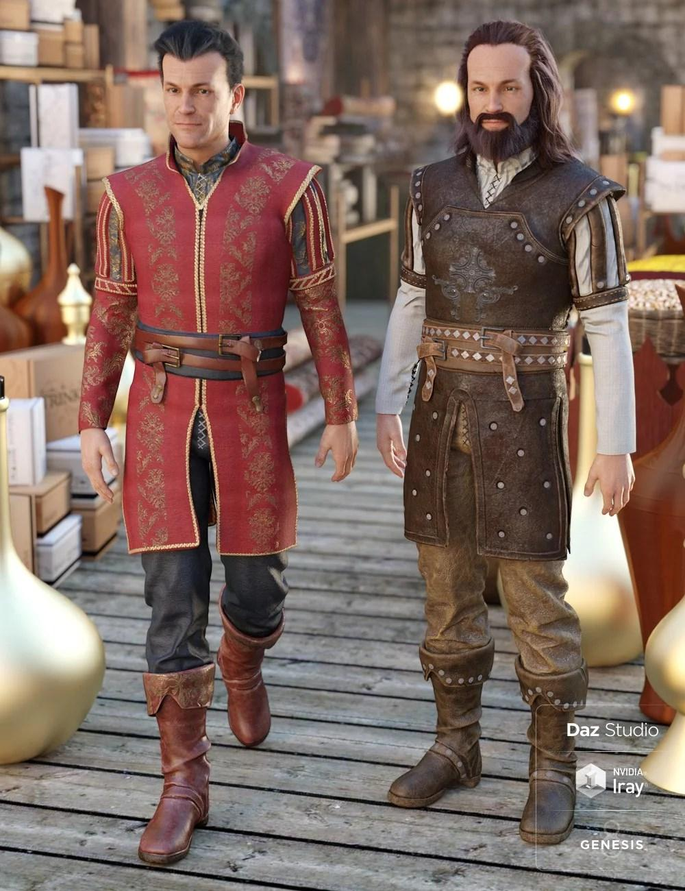 Southern Noble Outfit Textures