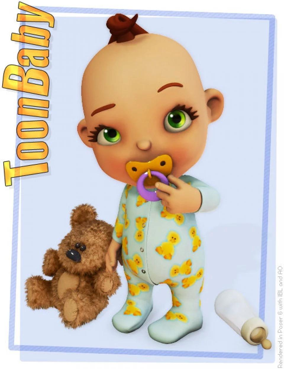 3D Universe's Toon Baby