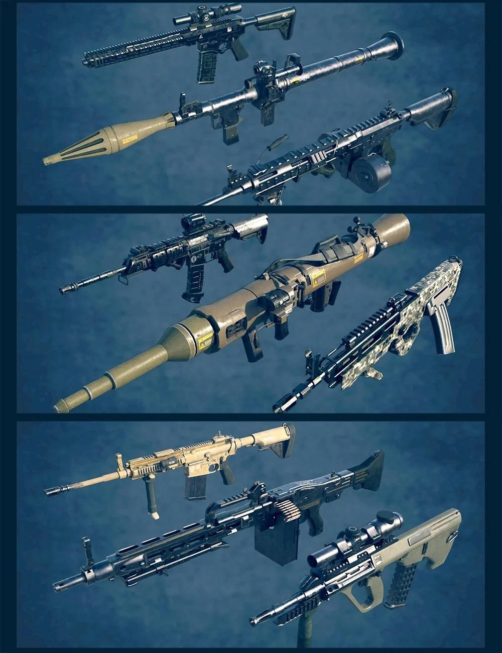 Military Weapons Bundle