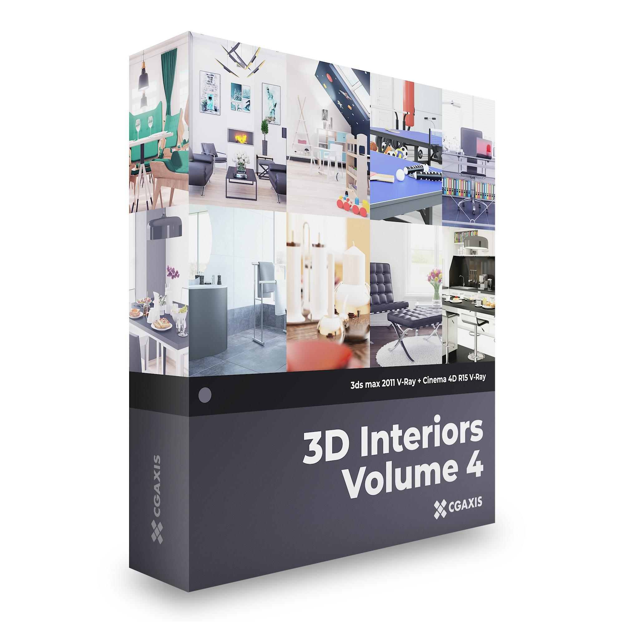 3D Interiors – CGAxis Collection Volume 4