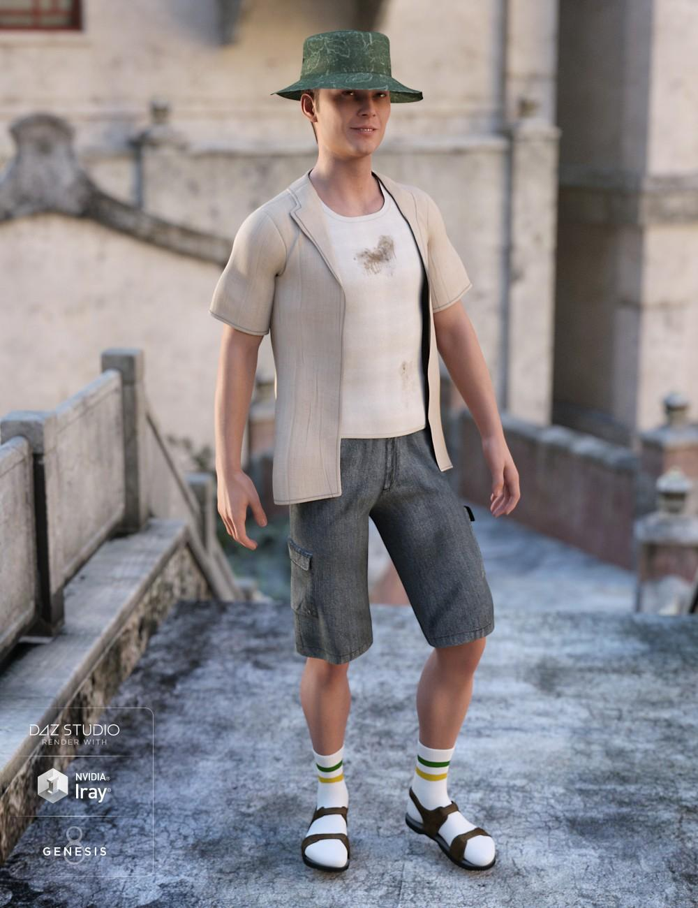 Summer Vacation Outfit Textures