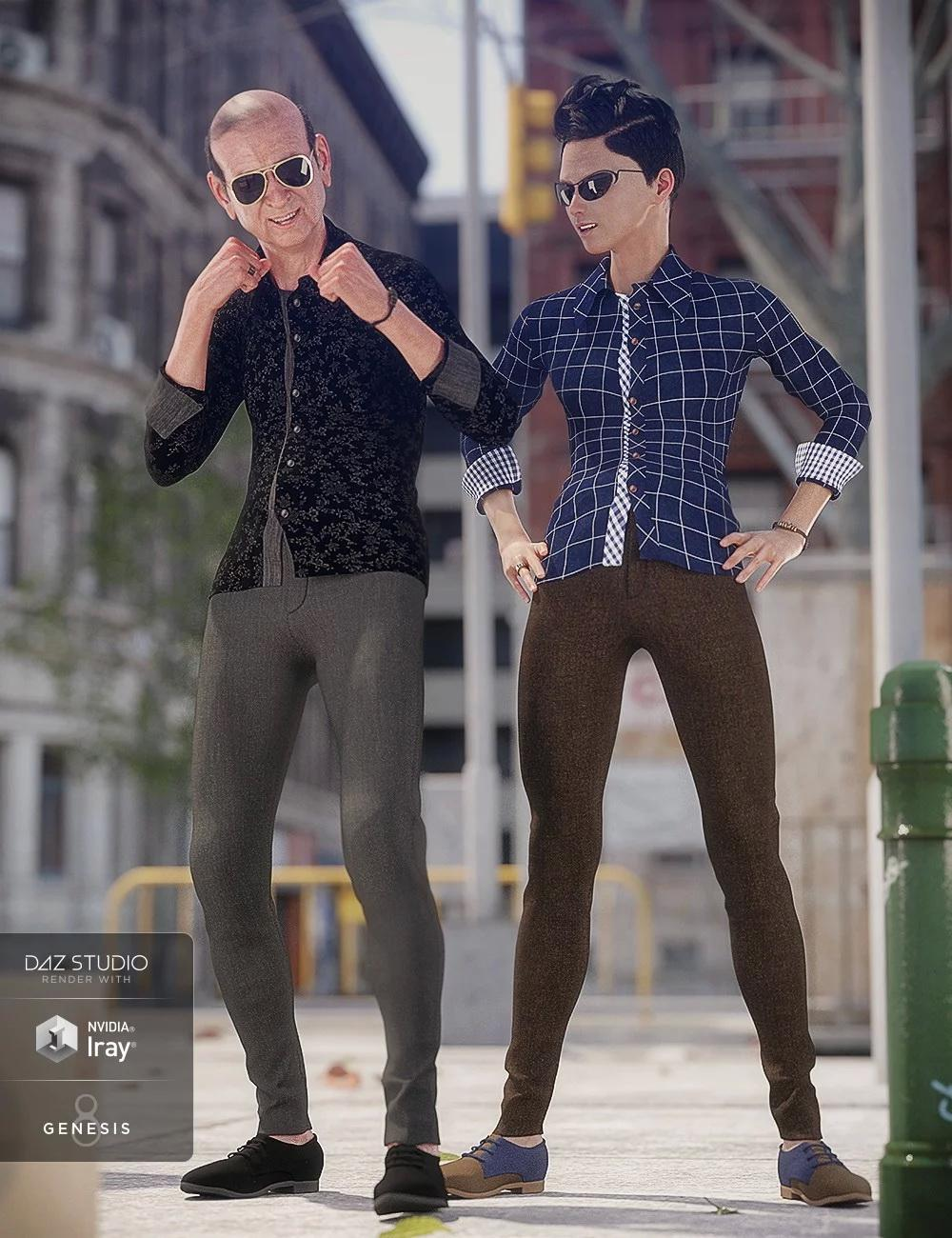 Smart and Suave Outfit Textures