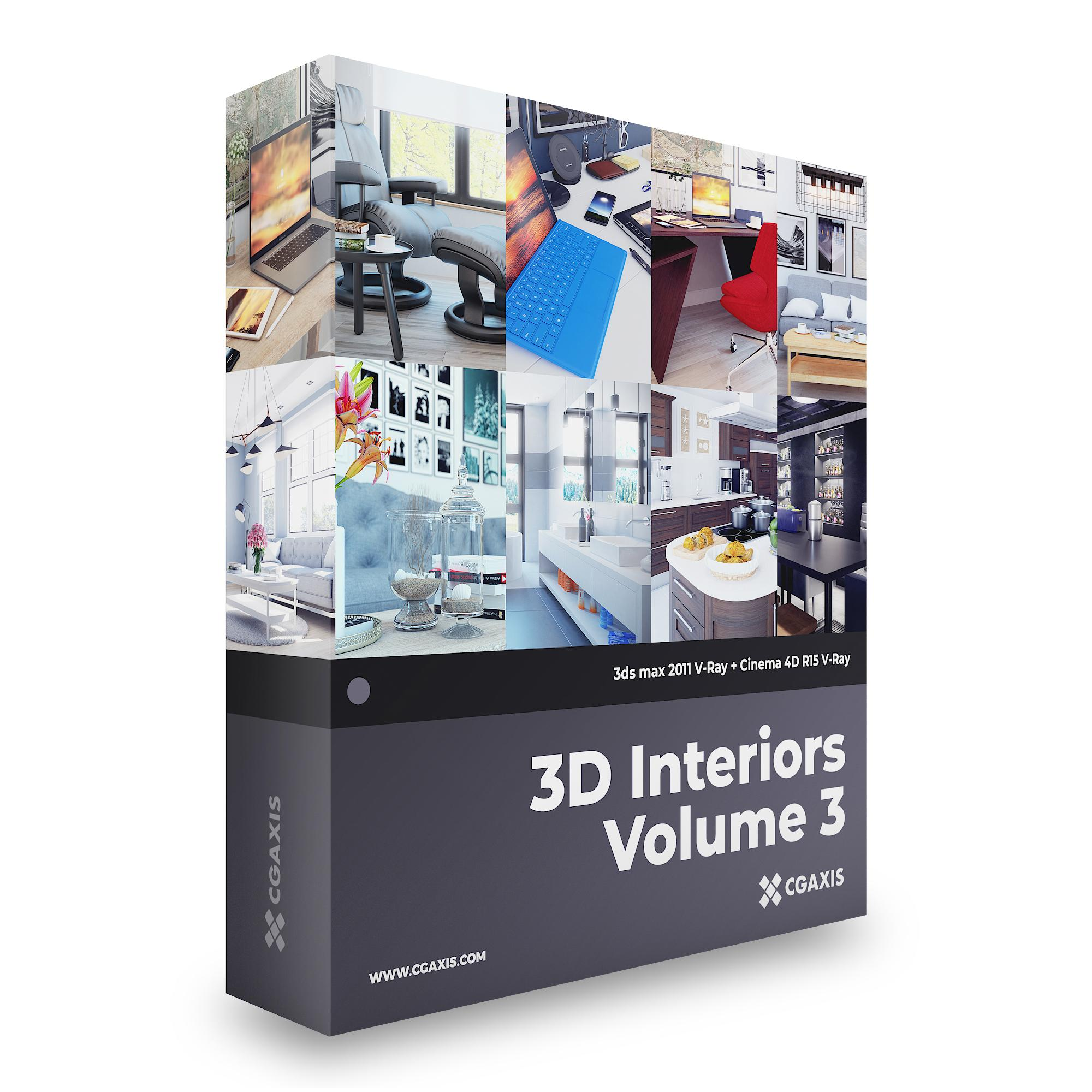 3D Interiors – CGAxis Collection Volume 3