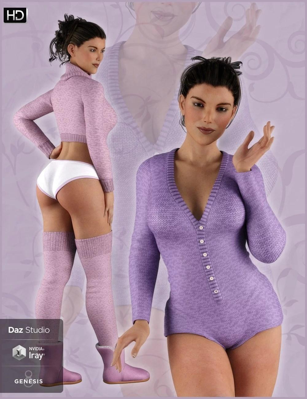 Angel Secrets Wool Edition for Genesis 8 Female(s)