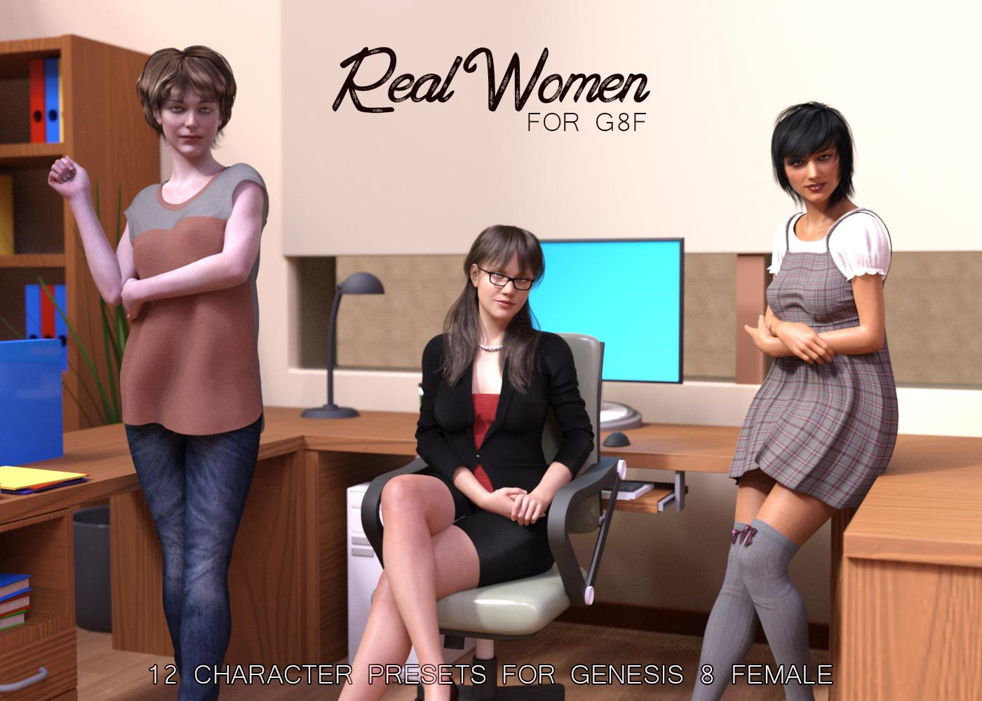 Real Women for G8F