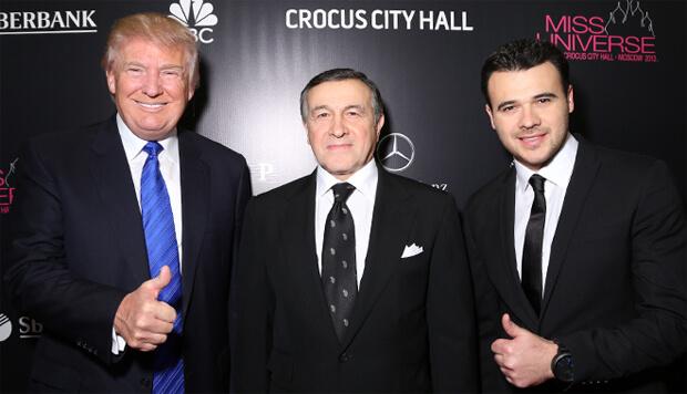 Эмин Агаларов отменил гастроли в США из-за расследования Мюллера - Новости радио OnAir.ru