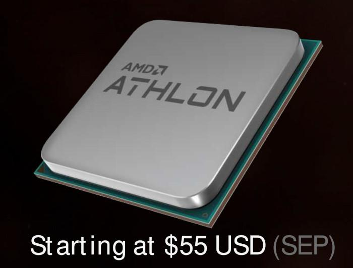 Двухъядерный AMD Athlon 200GE