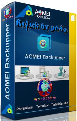 AOMEI Backupper Technician Plus 5.0.0 RePack & Portable by 9649