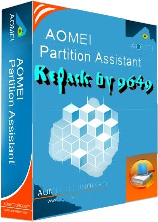 AOMEI Partition Assistant 7.5.1 RePack & Portable by 9649