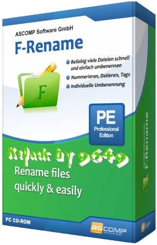 ASCOMP F-Rename Pro 2.001 RePack & Portable by 9649