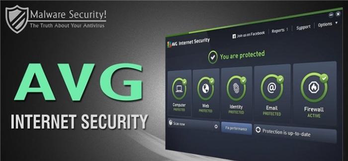 AVG Internet Security и особенности в его работе