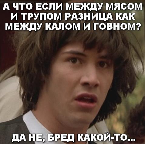 """Своих родителей вы тоже трупоедами зовёте?"" Achtoeslimezhdumyasomitrupomraznicakakmezhdukalomigovnom.1482165382"