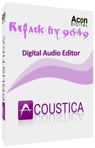 Acoustica Premium Edition 7.1.6 RePack & Portable by 9649
