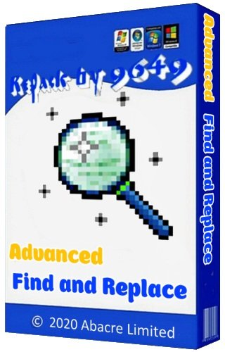 Advanced Find and Replace 8.1 RePack & Portable by 9649