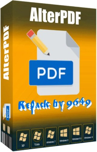 AlterPDF Pro 3.8 RePack & Portable by 9649