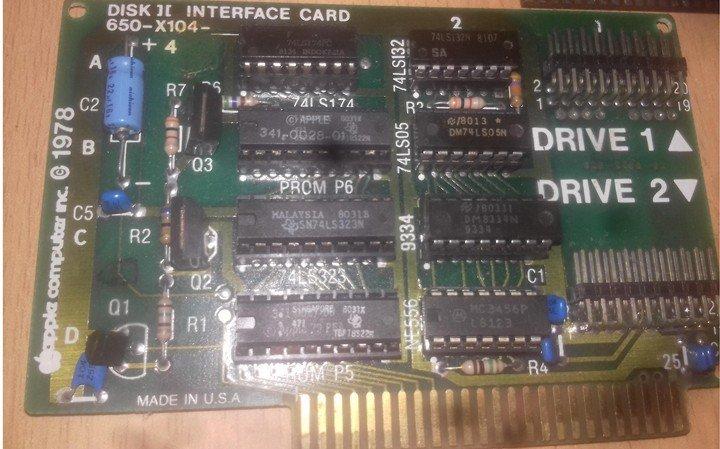 Сборка и настройка платы Apple-II Apple-IIFDC.1546923442