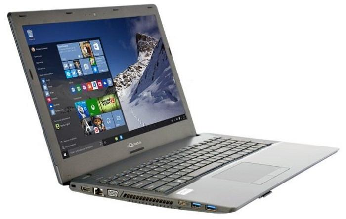 Первый российский ноутбук Aquarius