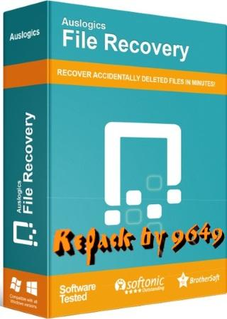Auslogics File Recovery 10.0.0.4 RePack & Portable by 9649