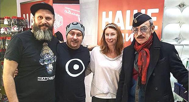 Михаил Боярский начал день вместе с петербуржцами в эфире «Нашего радио» - Новости радио OnAir.ru