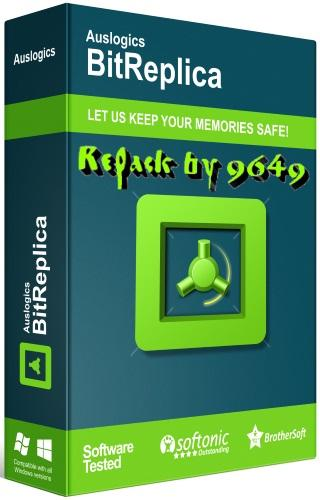 Auslogics BitReplica 2.4.0.2 RePack & Portable by 9649