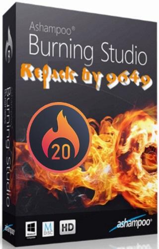 Ashampoo Burning Studio 20.0.3.3 RePack & Portable by 9649