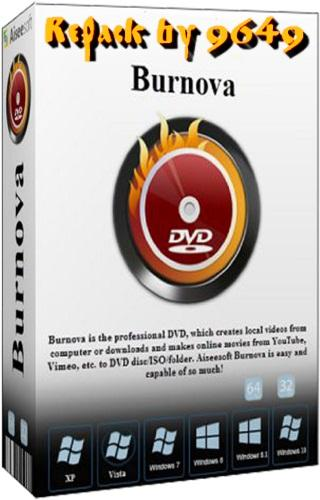 Aiseesoft Burnova 1.3.50 RePack & Portable by 9649