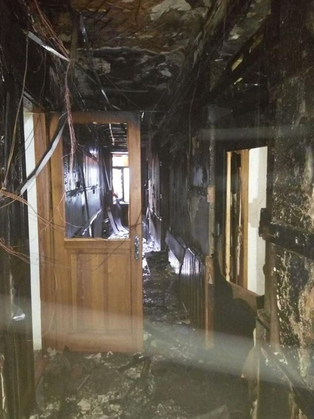 Пожар в Соломенском суде Киева на 98% вызван поджогом, - Геращенко - Цензор.НЕТ 6695