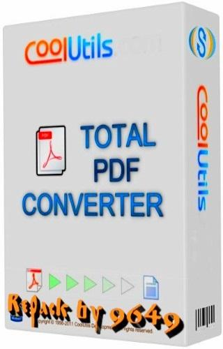 Coolutils Total PDF Converter 6.1.0.195 RePack & Portable by 9649