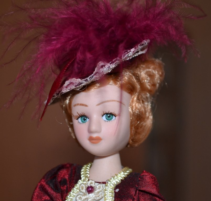 Куклы из наших коллекций №1. Фарфоровые красавицы