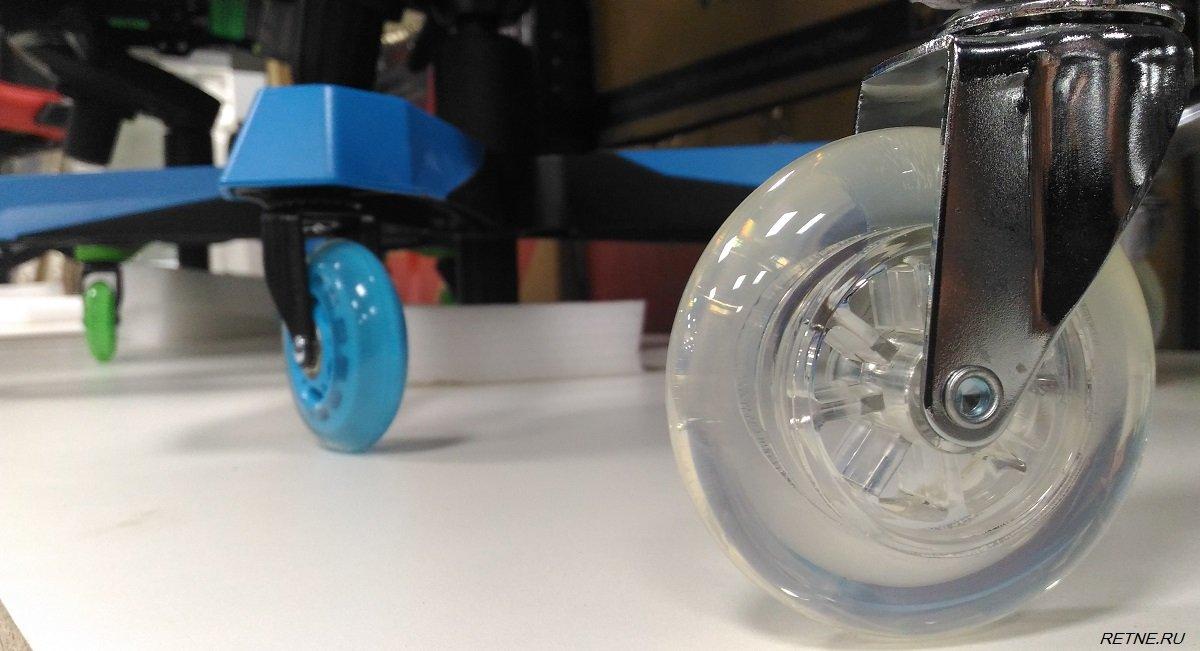 прозрачные колёса для кресел