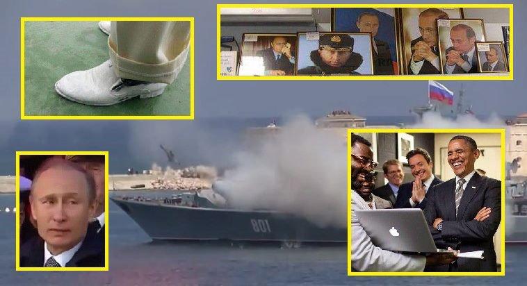 Военные РФ не смогли запустить ракету на морском параде в Балтийске, заставив Путина кусать губы - Цензор.НЕТ 5813