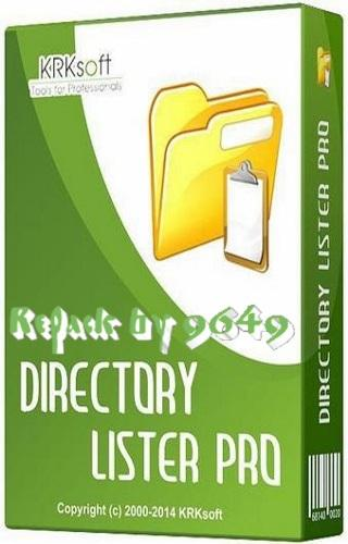 Directory Lister 2.35 RePack & Portable by 9649