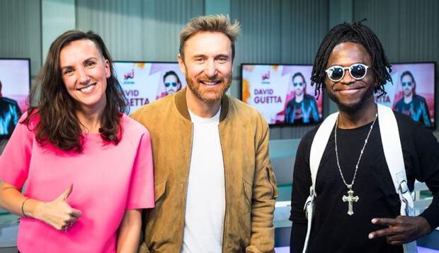 Звезда мировых танцполов David Guetta в прямом эфире Радио ENERGY