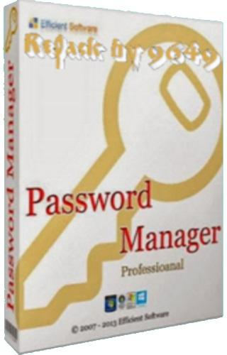 Efficient Password Manager Pro 5.60.556 RePack & Portable by 9649