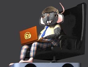 Жуткая мышь на сайте crazdimka