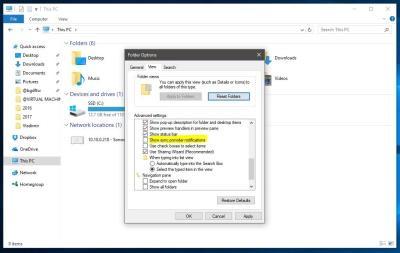 Как блокировать эти окна объявлений в File Explorer на Windows 10