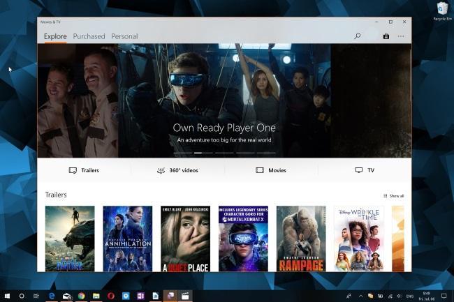 """Microsoft разработала приложение """"Фильмы и ТВ"""" для iPhone и Android"""