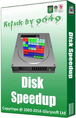 Glarysoft Disk SpeedUp 5.0.1.62 RePack & Portable by 9649