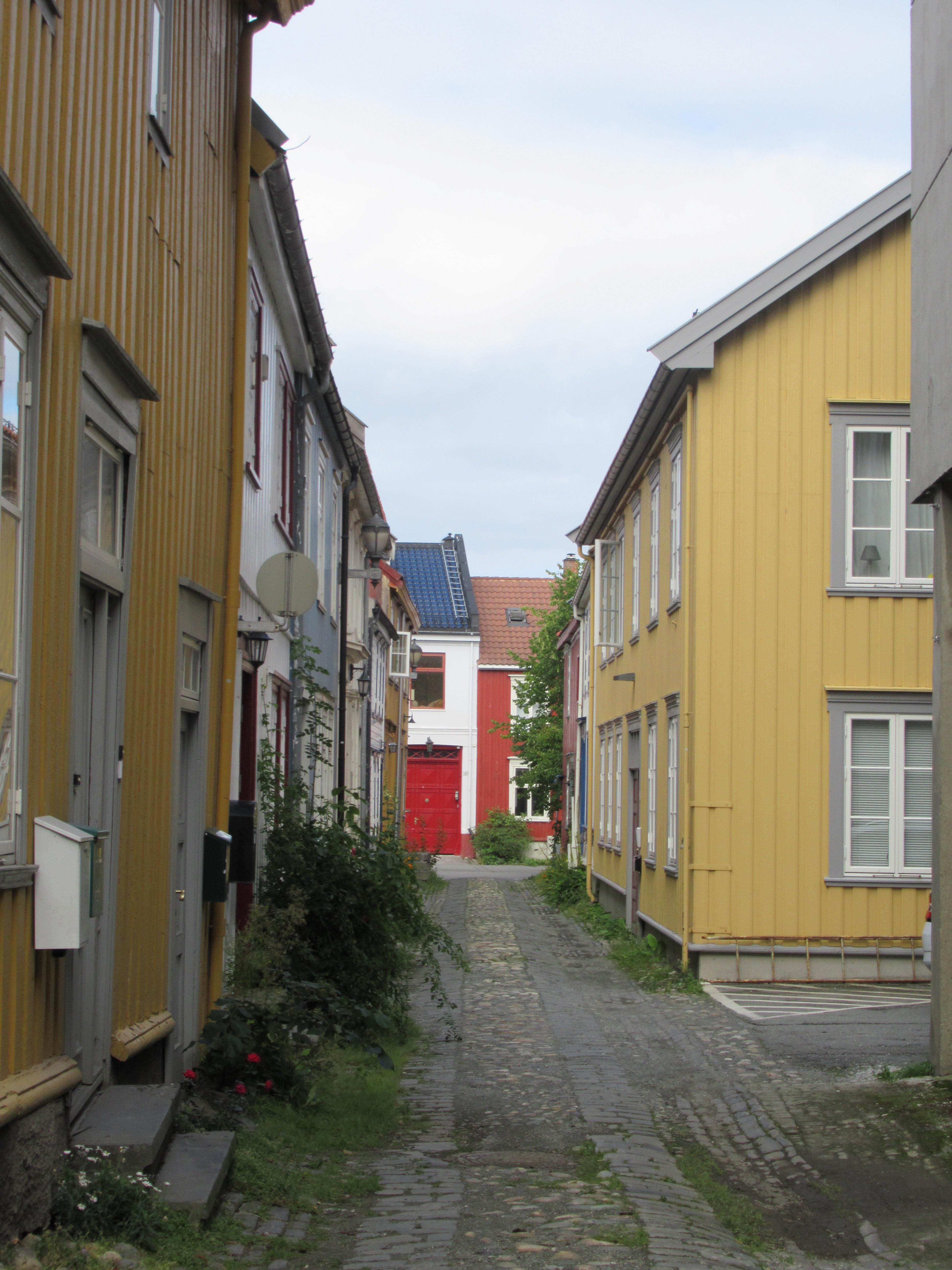 Норвежская непогода нам не помешала