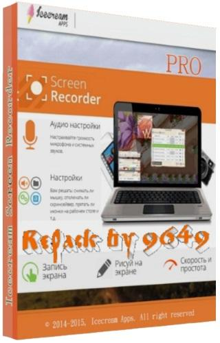 Icecream Screen Recorder Pro 5.98 RePack & Portable by 9649