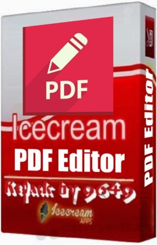 Icecream PDF Editor Pro 2.10 RePack & Portable by 9649