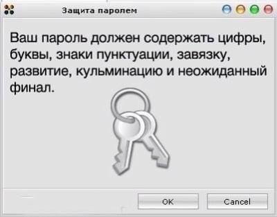 Искусство создания паролей