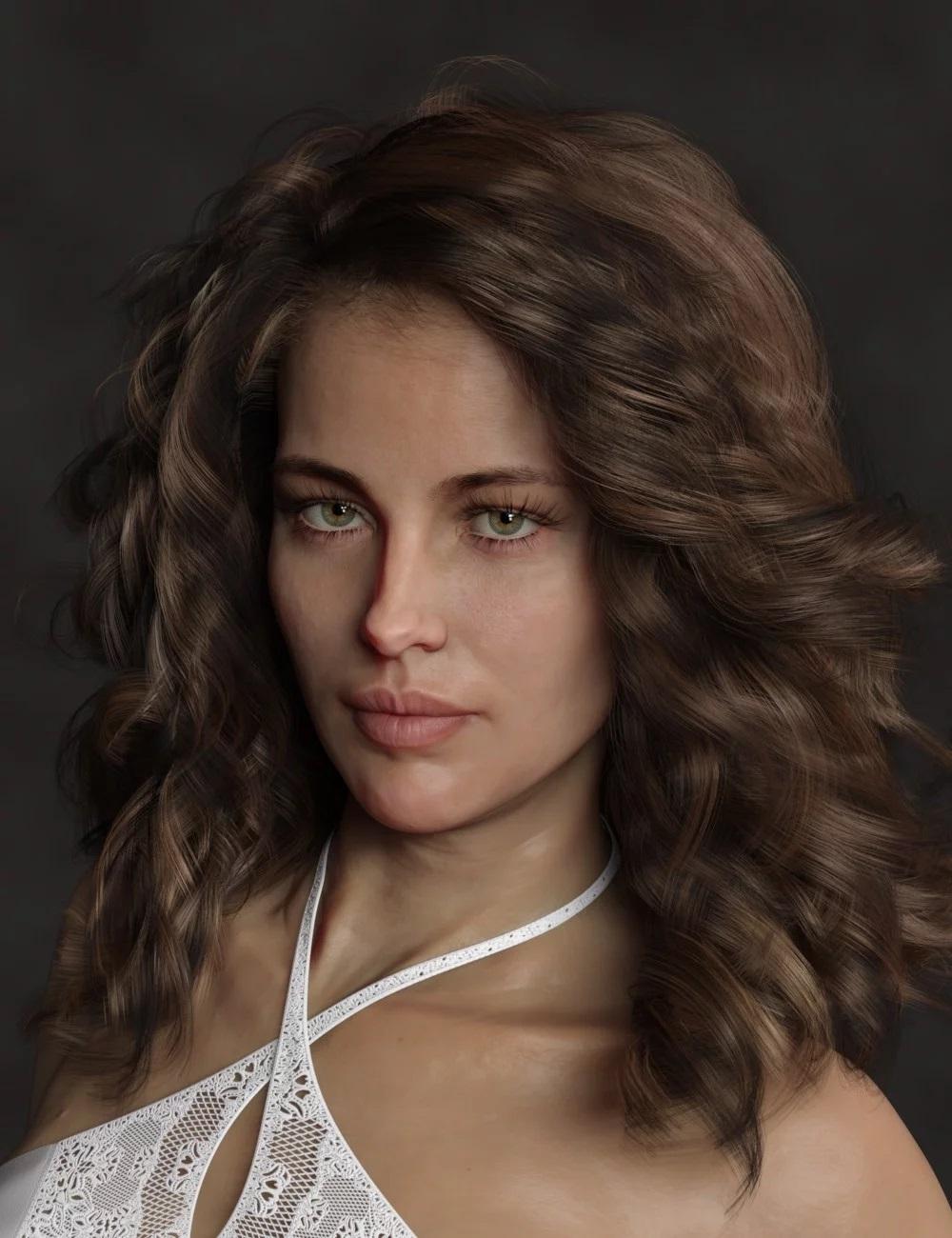 dforce Soft Curls for Genesis 8 and Genesis 3 Female(s)