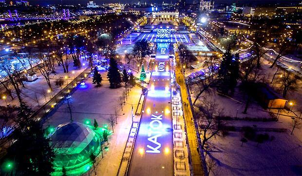 В 2019 году Радио ENERGY продолжит партнерство с катком в Парке Горького - Новости радио OnAir.ru